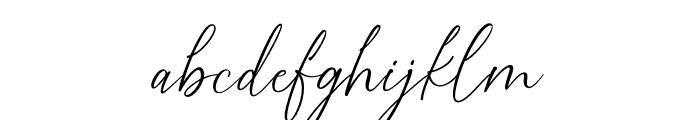 Golden Dream Font LOWERCASE
