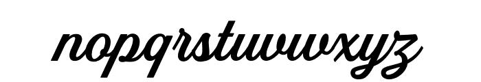 Golden Hills Font LOWERCASE