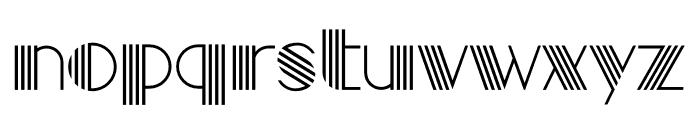 Golden Lines Font UPPERCASE