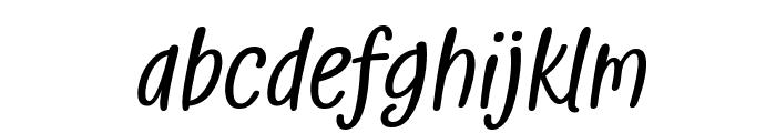 Golden Memories Italic Font LOWERCASE