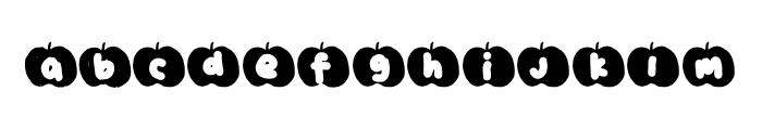 Golden Pumpkin Font LOWERCASE