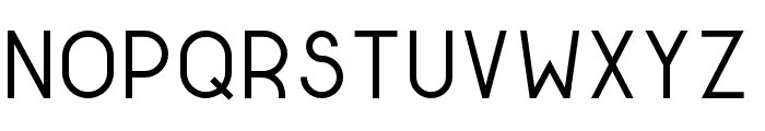 Golden Ratio Regular Font LOWERCASE