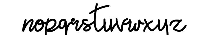 Golden Seed Font LOWERCASE