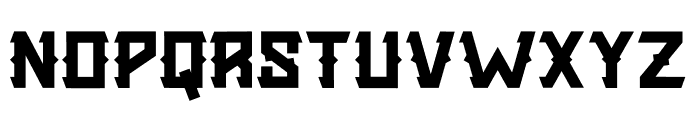 Golden Silver Font UPPERCASE
