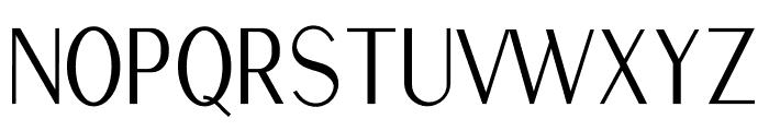 Golden Stanbury Font UPPERCASE