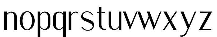 Golden Stanbury Font LOWERCASE