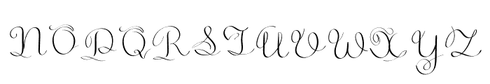 GoldenAge Font UPPERCASE