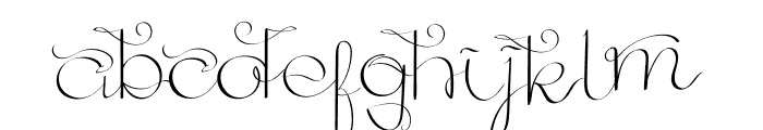 GoldenAge Font LOWERCASE