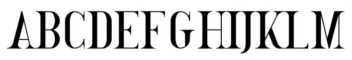 GoldenBird Down Font UPPERCASE