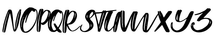 GoldenPalace Regular Font UPPERCASE