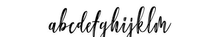 GoldenPalace Regular Font LOWERCASE