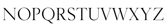 GoldenRoyale Font UPPERCASE