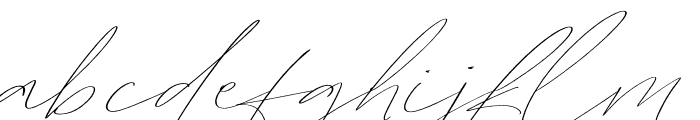 GoldenRoyaleScript-Script Font LOWERCASE