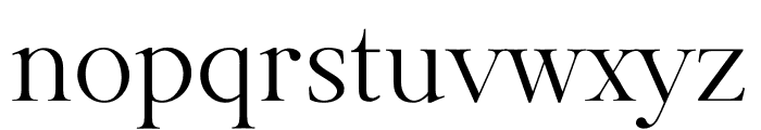 GoldenRoyale Font LOWERCASE