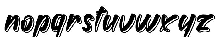 Golden Font LOWERCASE