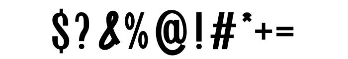 Goldenlife Font OTHER CHARS