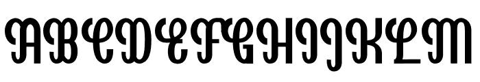 Goldenlife Font UPPERCASE
