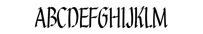 Goldenrod Font UPPERCASE