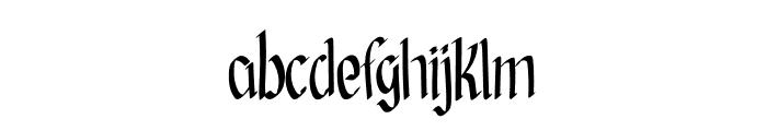 Goldenrod Font LOWERCASE