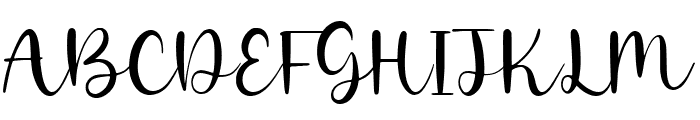 Goldie Angle Font UPPERCASE
