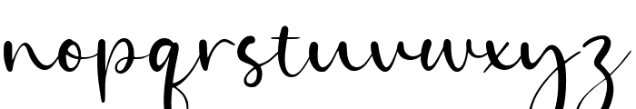 Goldie Angle Font LOWERCASE