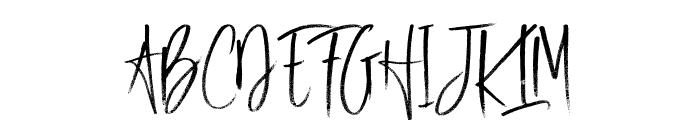 Good Night Font UPPERCASE