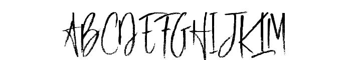 GoodNight Font UPPERCASE