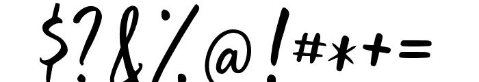GoodSlientNight Font OTHER CHARS