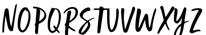 GoodSlientNight Font UPPERCASE