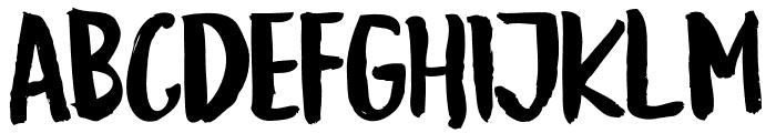 GoodSlientNightRoughSans Font UPPERCASE