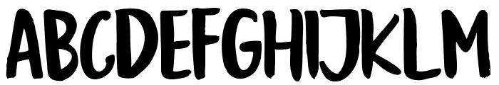 GoodSlientNightSans Font UPPERCASE