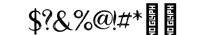 Good_feeling_two Regular Font OTHER CHARS