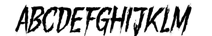 Gory Madness Variant Font UPPERCASE