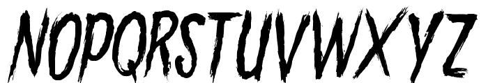 GoryMadness Font UPPERCASE