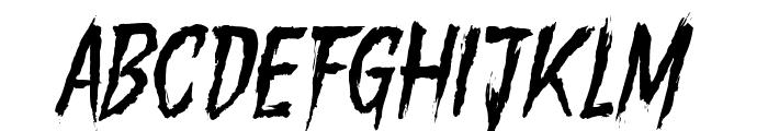 GoryMadnessVariant Font UPPERCASE