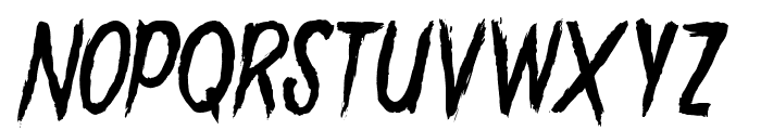 GoryMadnessVariant Font LOWERCASE