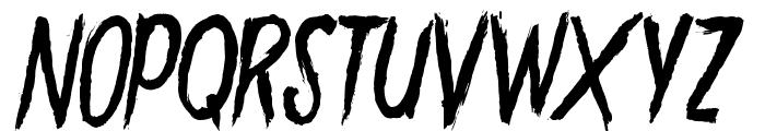 GoryMadness Font LOWERCASE