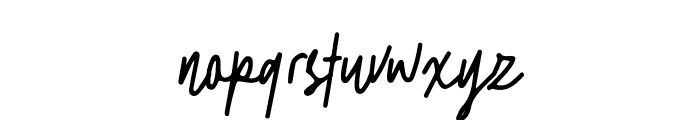 Gostend Font LOWERCASE