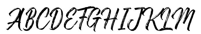 Gosthel Font UPPERCASE