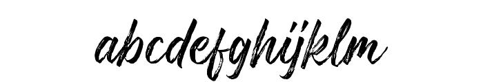 Gosthel Font LOWERCASE