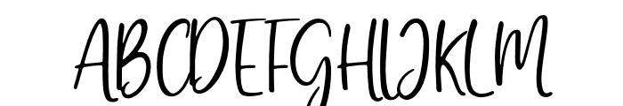 GratefullyScriptRegular Font UPPERCASE