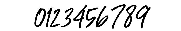 Great Authorized Slant Italic Font OTHER CHARS