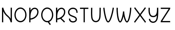 Great Feeling Sans Font UPPERCASE