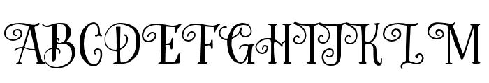 Greatest-Regular Font UPPERCASE