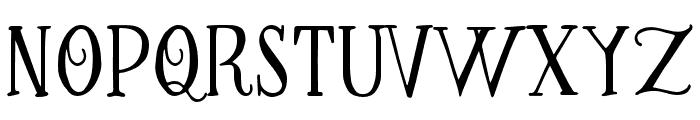 Greatest-Regular Font LOWERCASE