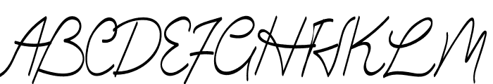 Greatest Show Font UPPERCASE