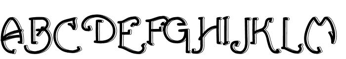 Green Island Font UPPERCASE