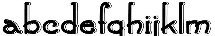 Green Island Font LOWERCASE