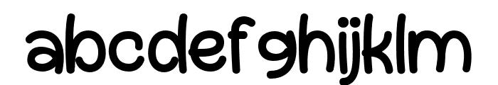 Gregory Regular Font LOWERCASE