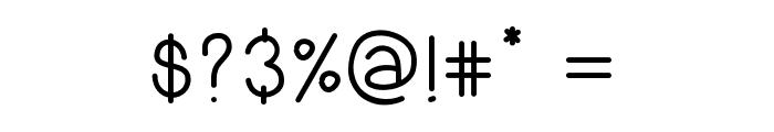 GrilledFont Font OTHER CHARS
